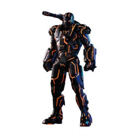 Hot toys 1/6 Iron Man 2 - Neon Tech Wachine Exclusive - MMS Diecast - 32cm