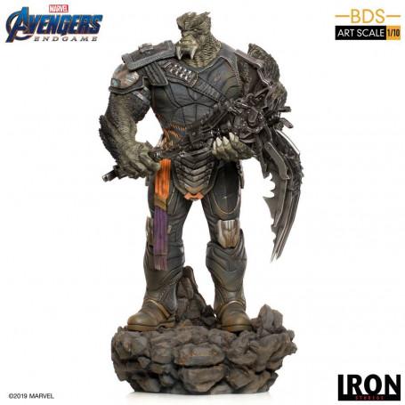 Iron Studios Marvel - Avengers Endgame - Cull Obsidian Black Order Deluxe - BDS Art Scale 1/10 - 36cm