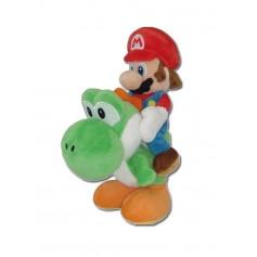 Super Mario Bros. peluche Mario & Yoshi 21 cm