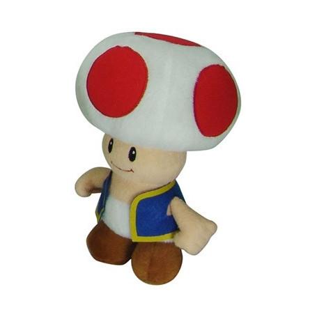 Super Mario Bros. peluche Toad 20 cm