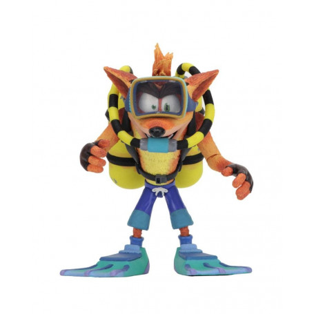Neca Crash bandicoot - Deluxe Scuba Crash - 14cm
