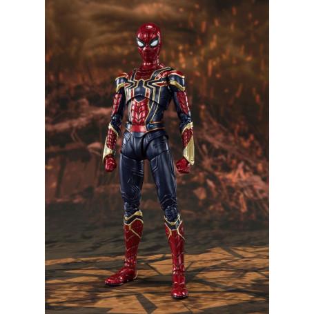 Bandai/Tamashii - Marvel Avengers: Endgame - SH Figuarts SHF - Iron Spider Final Battle -15cm