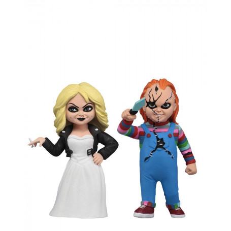 Neca - Toony Terrors - Serie 1 - Pack Chucky & Tiffany - 15cm