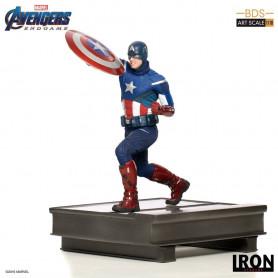 Iron Studios - BDS Art Scale 1/10 - Avengers: Endgame Captain America 2012 - 21cm