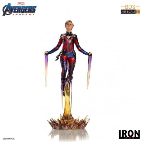 Iron Studios - BDS Art Scale 1/10 - Avengers: Endgame Captain Marvel - 26cm