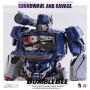 Three0 - Transformers Bumblebee - pack 2 figurines 1/6 DLX Soundwave & Ravage - 28 cm