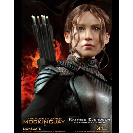 Star Ace - Hunger Games La Révolte partie 1 MFM figurine 1/6 - Katniss Everdeen Black Armor Ver. - 30 cm
