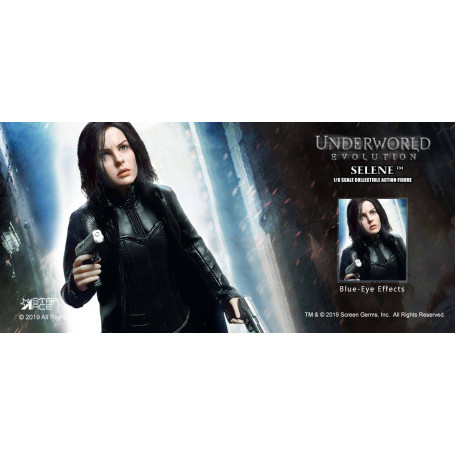 Star Ace UnderWorld 2: Evolution - My Favourite Movie -Selene 2.0 Blue Eyes Version - 1:6 - 29cm