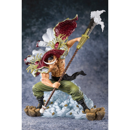 Bandai/Tamashii - SHF 0 - FIGUARTS - ONE PIECE - EDWARD NEWGATE PIRATE CAPTAIN - Whitebeard - Barbe Blanche - 27cm