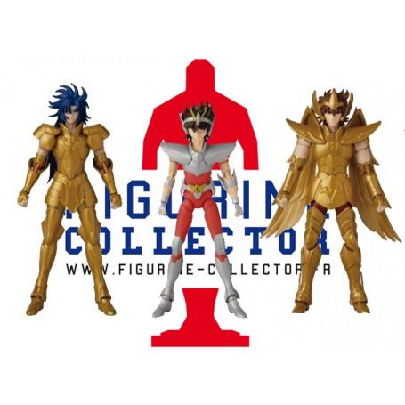 Bandai Anime Heroes - Seiya Saga Aiolos - Saint Seiya - Les Chevaliers du Zodiaque - 15cm