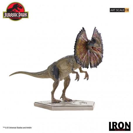 Iron Studios - Dilophosaurus - Dilophosaure - Jurassic Park Statuette 1/10 Art Scale - 18 cm