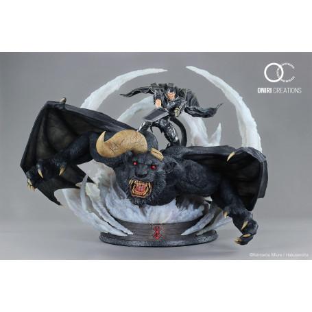 Oniri Creations - Berserk - Guts & Zodd VS Ganishka – Epic Diorama - 70cm