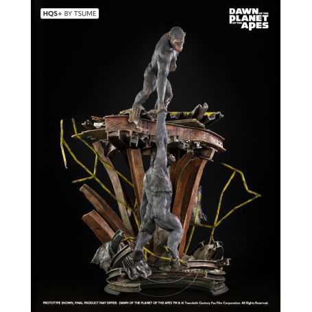 Tsume Statue HQS+ - Ape Not Kill Ape - Planet of the Apes - 82cm