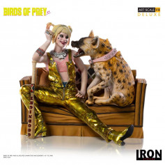 Iron Studios - Harley Quinn & Bruce - 1/10 DX BDS AS