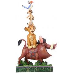 Disney Traditions Le Roi Lion - Stacking - Pumbaa - Simba - Timon - Zazu