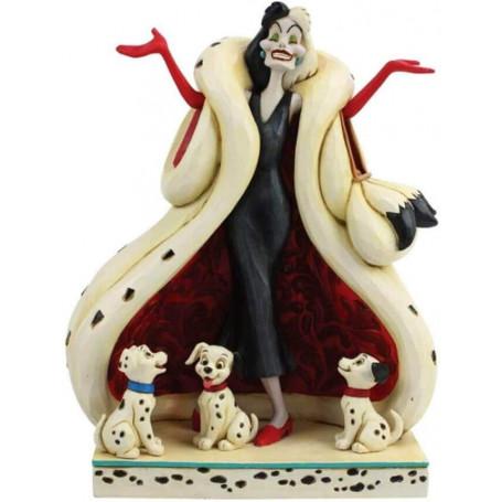 Disney Tradition - les 101 Dalmatiens - Cruella d'Enfer et les Chiots