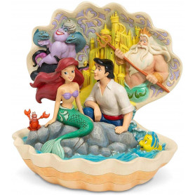 Disney Traditions - la Petite Sirene - Ariel & le Prince Eric