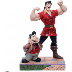 Disney Tradition - Gaston & LeFou - La Belle et la Bête