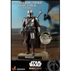 Hot Toys Star Wars - The Mandalorian and the Child Deluxe