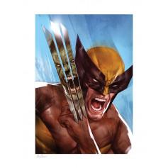 Marvel Art Print - The Incredible Hulk vs Wolverine by Ben Oliver 46 x 61 cm - non encadrée