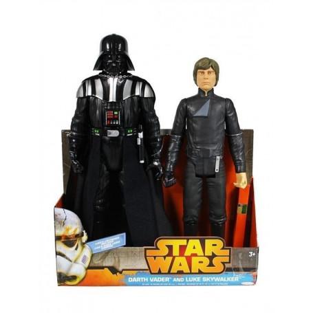 Jakks Pacific Star Wars Pack de 2 - Darth Vader et Luke