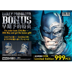 Prime 1 Studio DC Comics statue Batman Hush Batcave version Deluxe