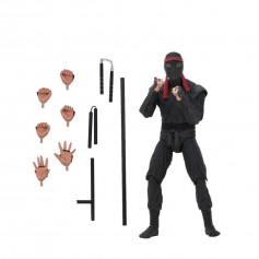 Neca - TMNT - Teenage Mutant Ninja Turtles - Les Tortues Ninja - The Movie -Foot Soldier with Melee Weapons
