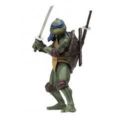 Neca - TMNT - Teenage Mutant Ninja Turtles - Les Tortues Ninja - The Movie - Leonardo - 18cm