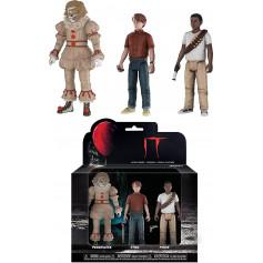 Funko - IT - CA - Set de 3 figurines - Pennywise Stan Mike