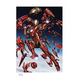 Marvel Art Print - Tony Stark: Iron Man - 46 x 61 cm - non encadré