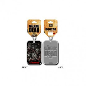 The Walking Dead : Zombies - Pendentif Dog Tag