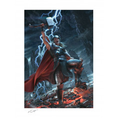 Marvel Art Print - Thor : Breaker of Brimstone - 46 x 61 cm - non encadré