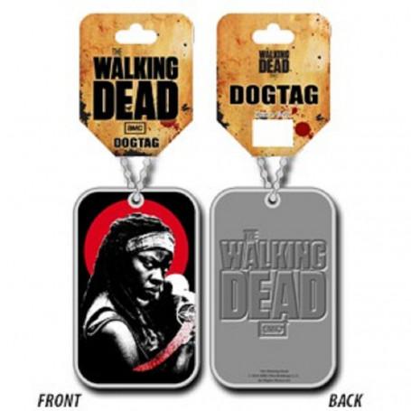 The Walking Dead : Michonne - Pendentif Dog Tag
