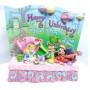 Enesco Disney Traditions Happy Unbirthday Storybook Alice in Wonderland Tea
