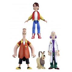 Neca Retour vers le futur assortiment figurines 15 cm Toony Classics série 1