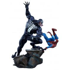 Sideshow Marvel statuette Spider-Man vs Venom 56 cm