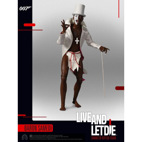 Big Chief - James Bond 007 - Baron Samedi - 1/6 - Vivre et laisser mourir