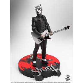 Knucklebonz - Ghost statuette Nameless Ghoul (White Guitar) - Rock Iconz