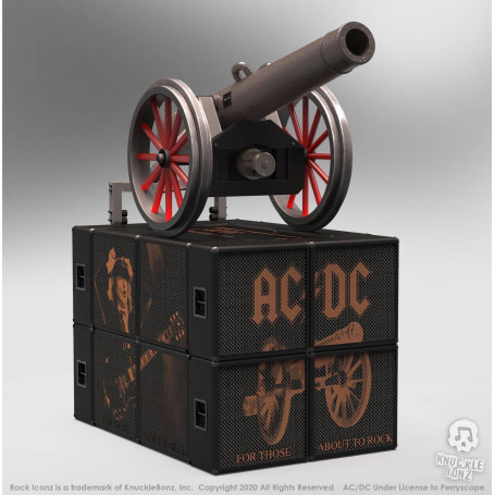 Knucklebonz - AC/DC statuette On Tour Canon - Rock Iconz