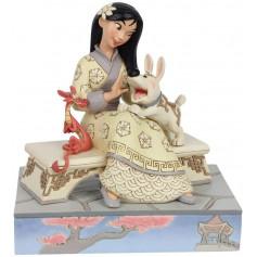 Enesco Disney Traditions Mulan - Serie Blanche