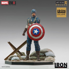 Iron Studios DC - Captain America - First Avenger - BDS AS - CCPX 2019 Event Exclusive