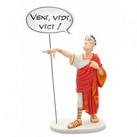 "Asterix statuette - Collectoys Collection - Bulles Cesar ""Veni Vidi Vici"""