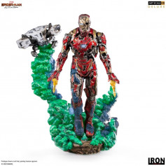 IRON STUDIOS - Spider-Man: Far From Home - Iron Man Illusion - BDS Art Scale Deluxe 1/10