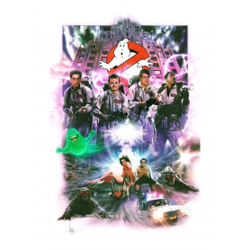 Ghostbusters impression - Art Print Ghostbusters 46 x 61 cm - non encadrée
