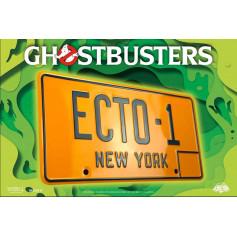 Doctor Collector - Ghostbusters: ECTO-1 réplique 1/1 plaque mineralogique