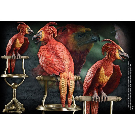 Noble Collection Statue Fumseck le phénix - Fawkes Harry Potter -