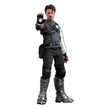 Hot Toys Iron man - Tony Stark Mech Test Deluxe Version MMS - 1/6