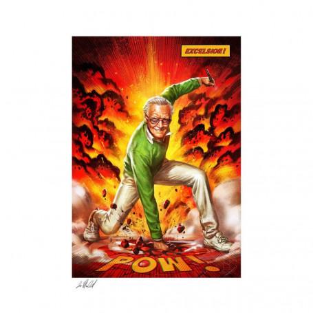 Marvel impression Art Print Stan Lee Excelsior! 46 x 61 non encadré