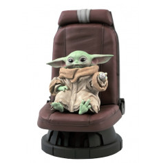 Diamond Select - THE CHILD IN CHAIR 1/2 SCALE STATUE - Star Wars The Mandalorian