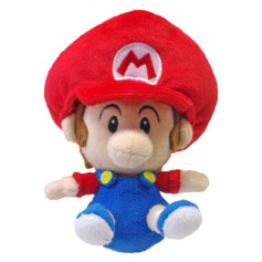 Super Mario Kart Peluche Bébé Mario 16 cm